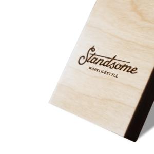 Standsome Slim Crafted - höhenverstellbarer Stehschreibtisch