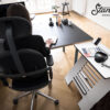 Standsome Double Gentlewhite Schreibtisch höhenverstellbar