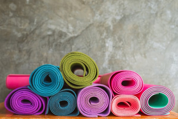 Möglichkeiten der Fitnessmatte