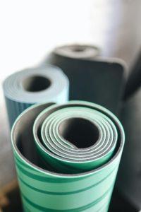 Fitnessmatten in verschiedenen Ausführungen