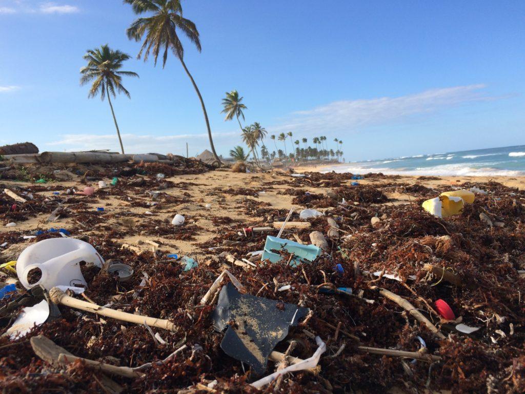 Strand - nicht plastikfrei