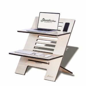 Standsome Double Crafted - height-adjustable standing desk