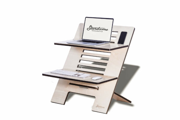 Standsome Double Crafted - height adjustable standing desk