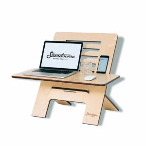 Standsome Slim Crafted with wide plate - standing desk