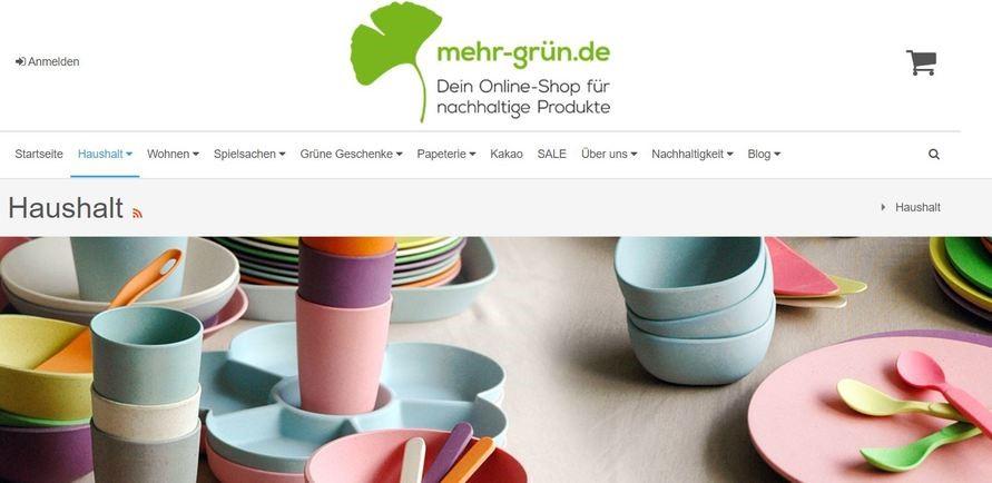 mehrgrün - onlineshop