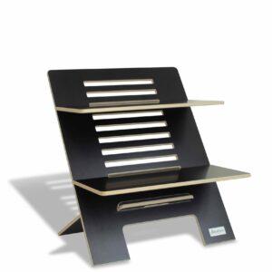 Standsome Double Black - height adjustable standing desk