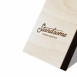 Standsome Logo Close Up