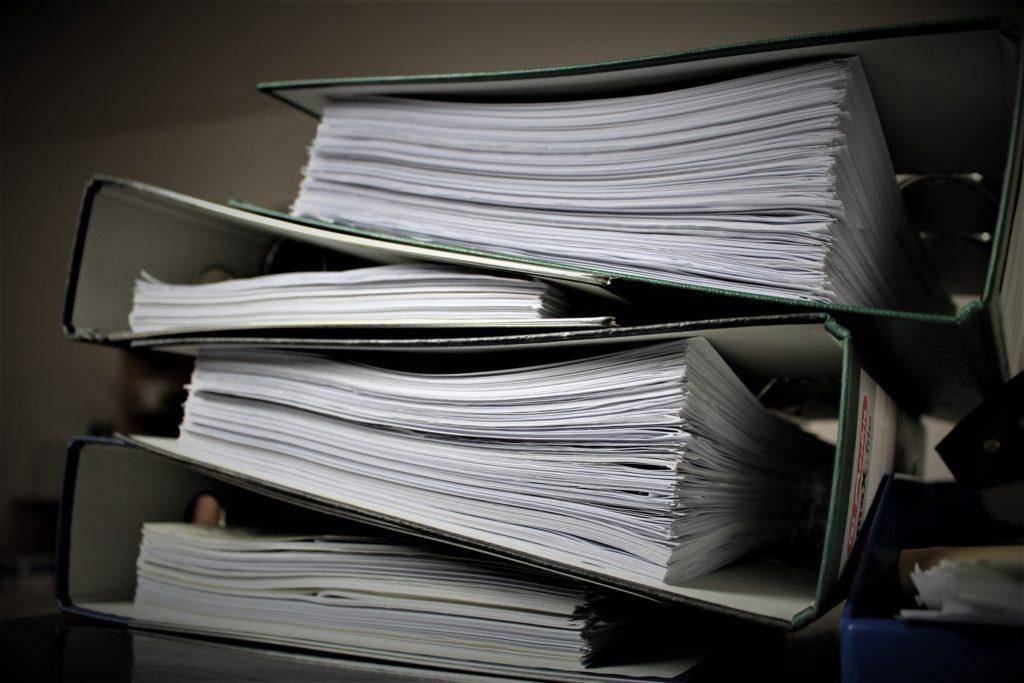 Nachhaltigkeit - weniger Papier verwenden