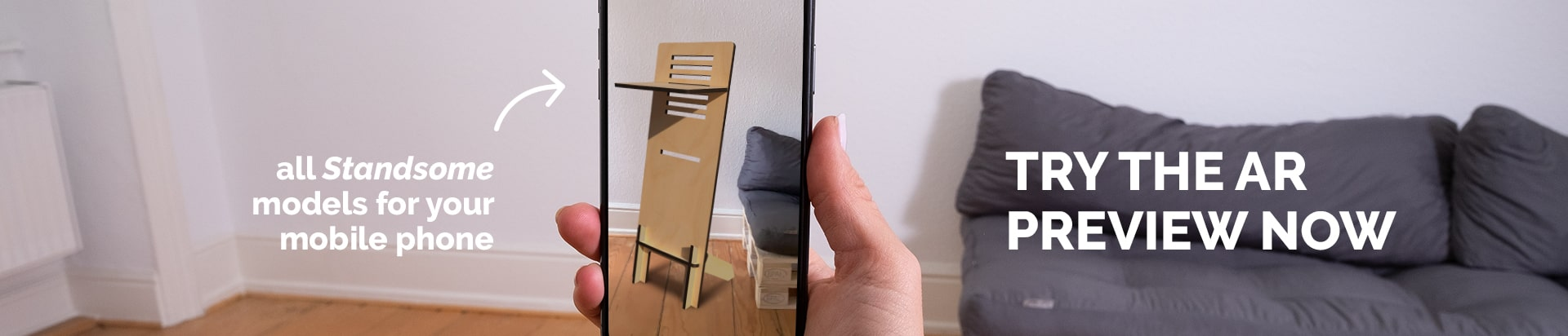 Standsome augmented reality application
